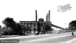 The Power Station c.1955, Ferrybridge
