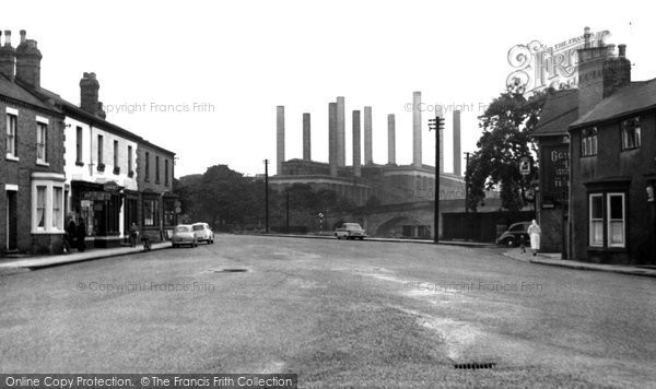 Photo of Ferrybridge, The Village And Power Station c.1955