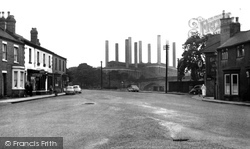 The Village And Power Station c.1955, Ferrybridge