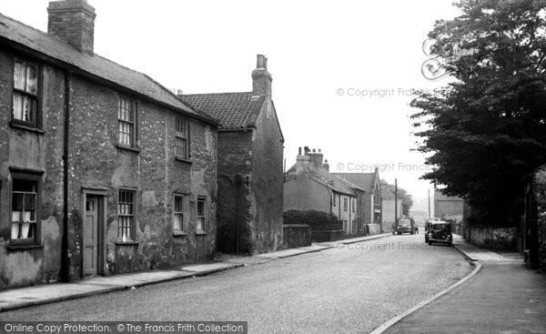 Photo of Ferrybridge, The Village c.1955