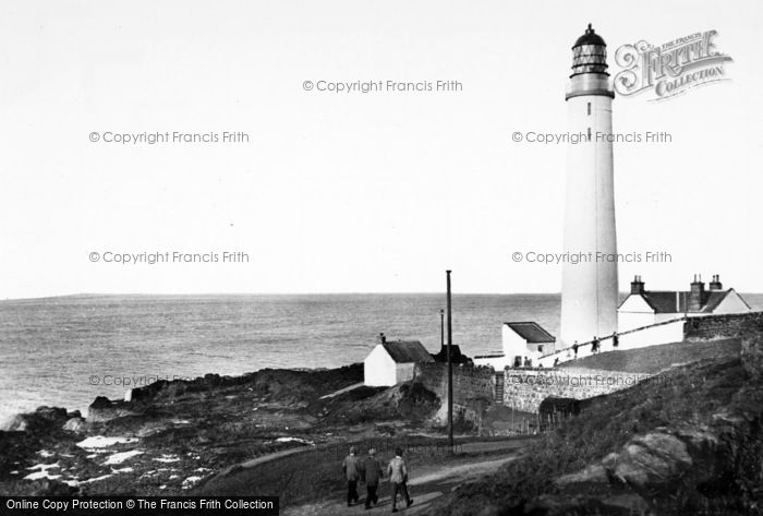 Photo of Ferryden, Scurdie Ness Lighthouse c.1960