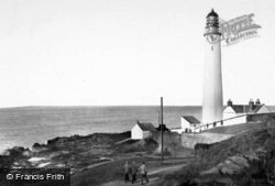 Scurdie Ness Lighthouse c.1960, Ferryden