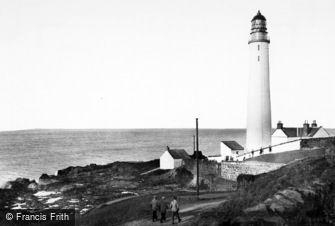 Ferryden, Scurdie Ness Lighthouse c1960