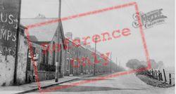 Chilton Terrace c.1955, Ferryhill