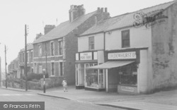 Ferryhill, Darlington Road Fisheries And Butchers 1959