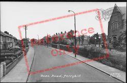 Dean Road c.1960, Ferryhill