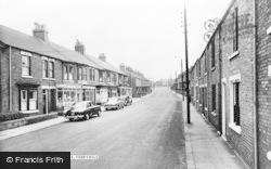 Ross Terrace c.1960, Ferryhill