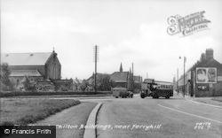 The Church, Chilton Buildings c.1955, Ferryhill
