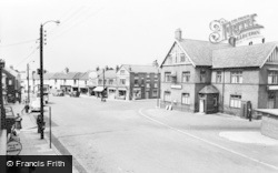 Ferryhill, The Market Place c.1960