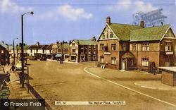 The Market Place c.1960, Ferryhill