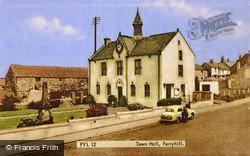 The Town Hall c.1960, Ferryhill