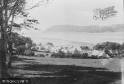Ferryside, And Llanstephan 1925