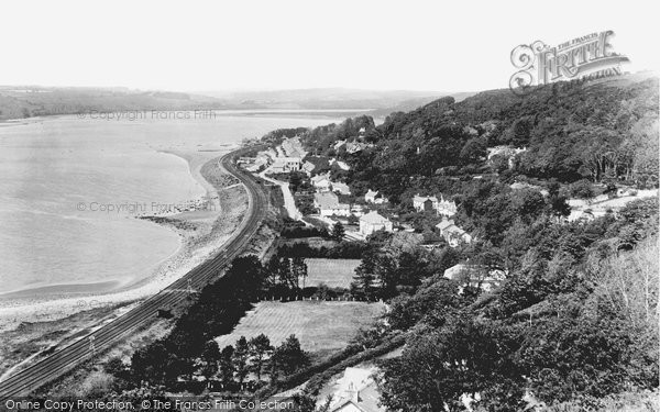 Ferryside, Coast and Village 1925