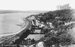 Ferryside, Coast And Village 1925