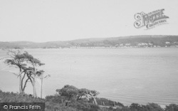Ferryside, From Llanstephan Castle 1925