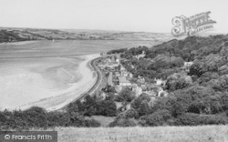 Ferryside, General View c.1960
