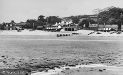 Ferryside, Low Tide c.1955