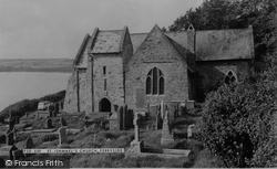 Ferryside, St Ishmael's Church c.1960