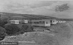 Ferryside, St Ishmaels Caravan Site c.1960