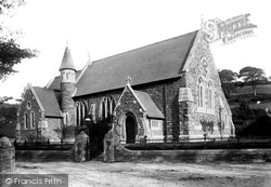 Ferryside, St Thomas' Church 1893