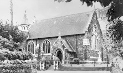 Ferryside, St Thomas' Church c.1950
