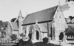 Ferryside, St Thomas' Church c.1960