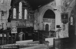 Ferryside, St Thomas' Church Interior c.1960