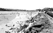 Ferryside, the Beach c1960