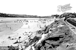 Ferryside, The Beach c.1960
