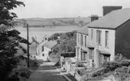 Ferryside, the Road To Ferryside c1960