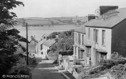 Ferryside, The Road To Ferryside c.1960