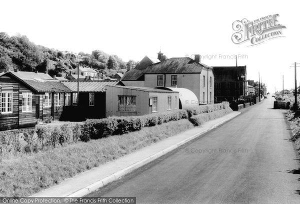 Ferryside, the School Canteen and Eva Terrace c1960