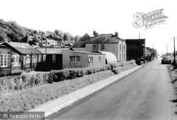 Ferryside, The School Canteen And Eva Terrace c.1960