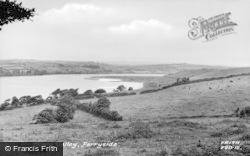 Ferryside, The Towy Valley c.1955