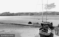 Ferryside, View Of Llanstephan c.1965