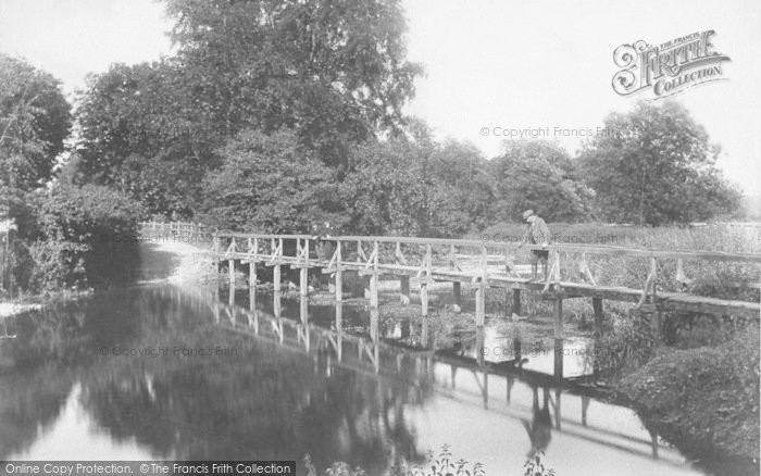Photo of Fetcham, Ford, Old Mill Bridge 1904