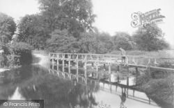 Fetcham, Ford, Old Mill Bridge 1904