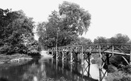 Fetcham, Ford on the River Mole 1928