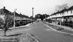 Fetcham, Hillyfield Lane c.1955