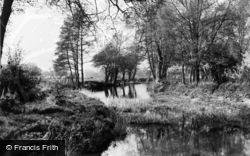 Fetcham, River Mole c.1955