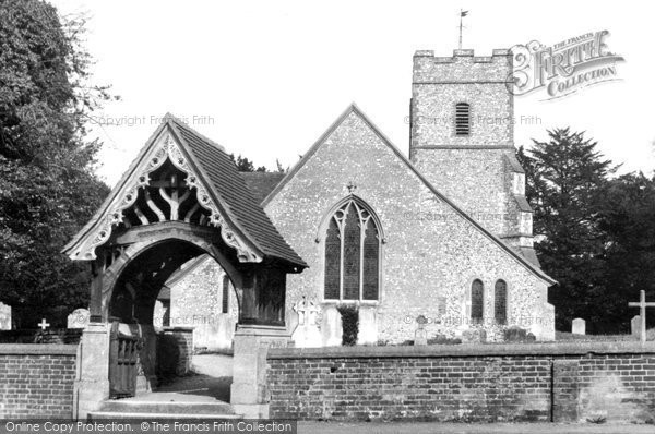 St. Mary's Church, c.1965. Reproduced courtesy of The Francis Frith Collection