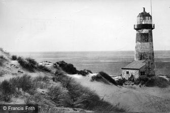 Ffynnongroyw, Point of Ayr Lighthouse c1950