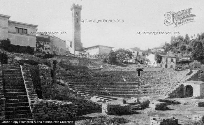 Photo of Fiesole, Roman Theatre And Cathedral c.1930