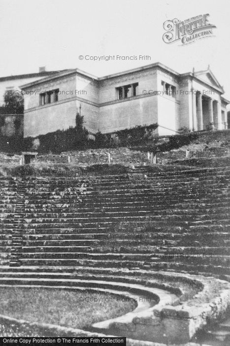 Photo of Fiesole, Roman Theatre c.1930