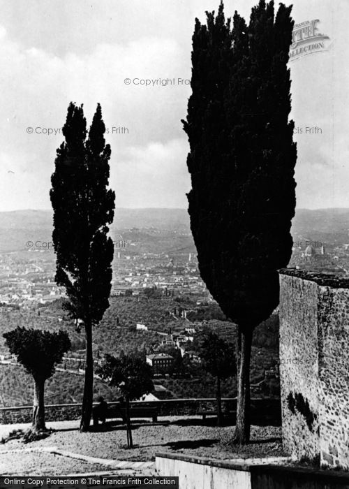 Photo of Fiesole, View Towards Florence c.1930