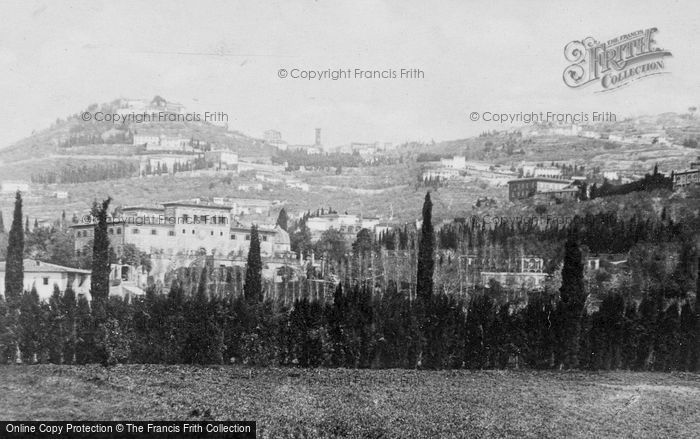 Photo of Fiesole, Villa Palmieri And The Town c.1930