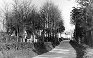 Figheldean, Ablington Road c1955