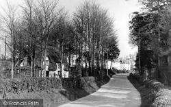 Figheldean, Ablington Road c.1955