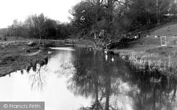 Figheldean, River Avon c.1955