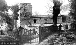 St Michael's Church c.1955, Figheldean